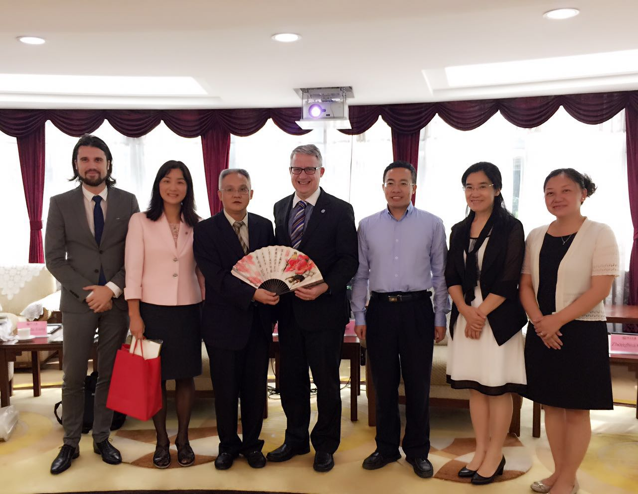 Sun-Yat-Sen Univ visit on Nov 9, 2015