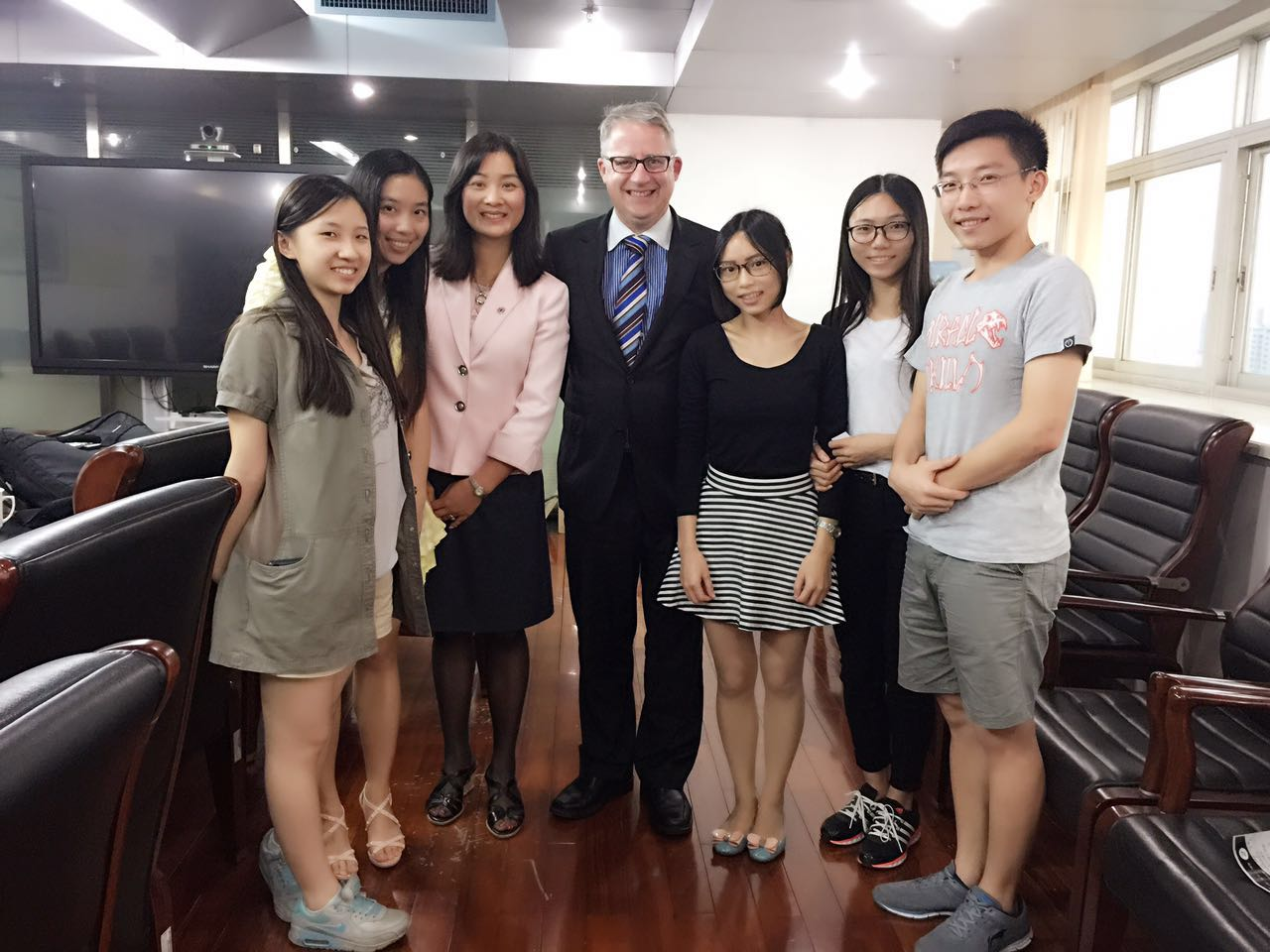 Guangdong Univ of Education visit on Nov 9, 2015
