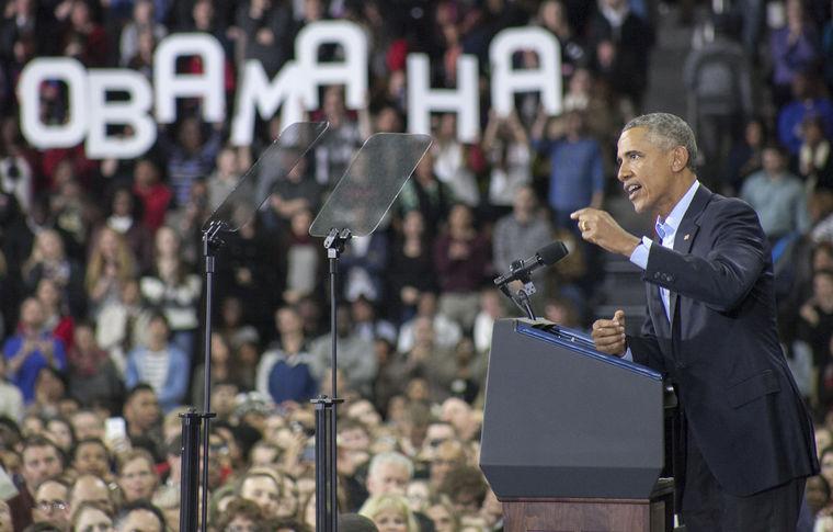 President Barack Obama visited the UNO