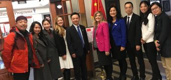 Guangdong University of Education visits UNO on Oct 12, 2018
