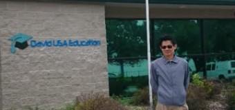 Meet the President of Liu & DB Enterprises INC. & David USA Education