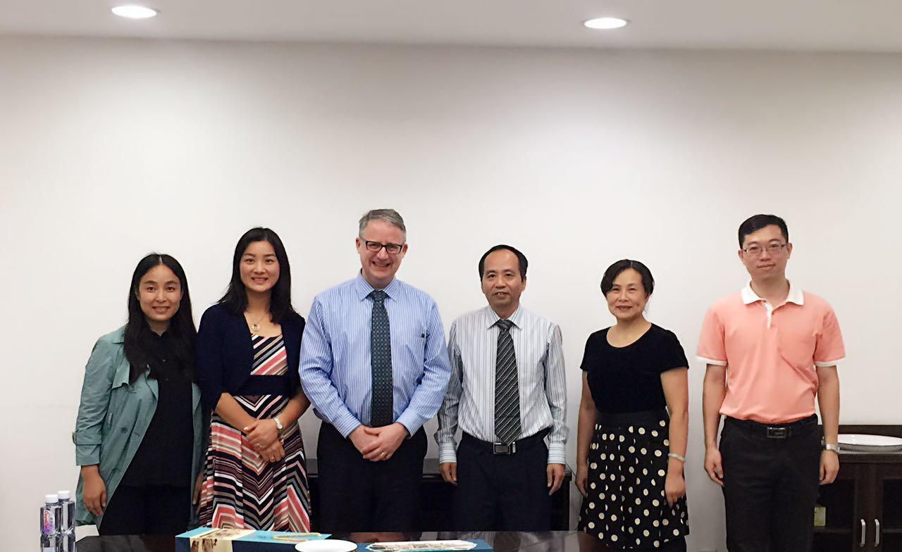 Jinan University visit Nov. 2015