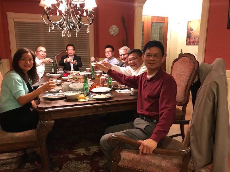 Farewell of HSNU delegates